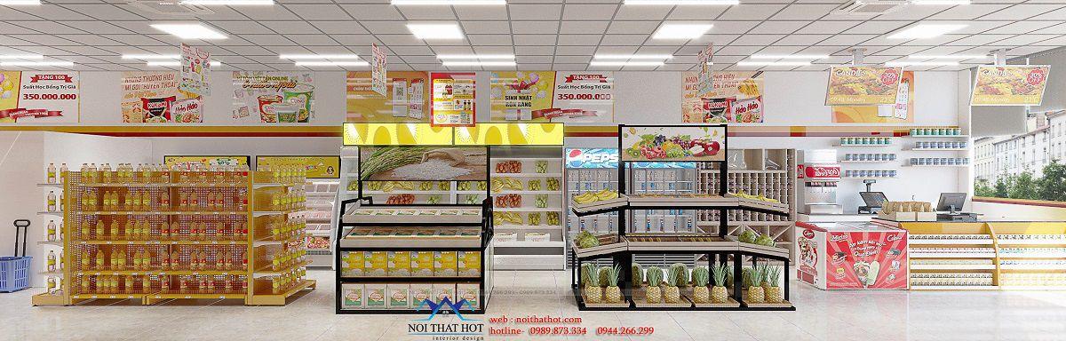 kệ trưng bày siêu thị