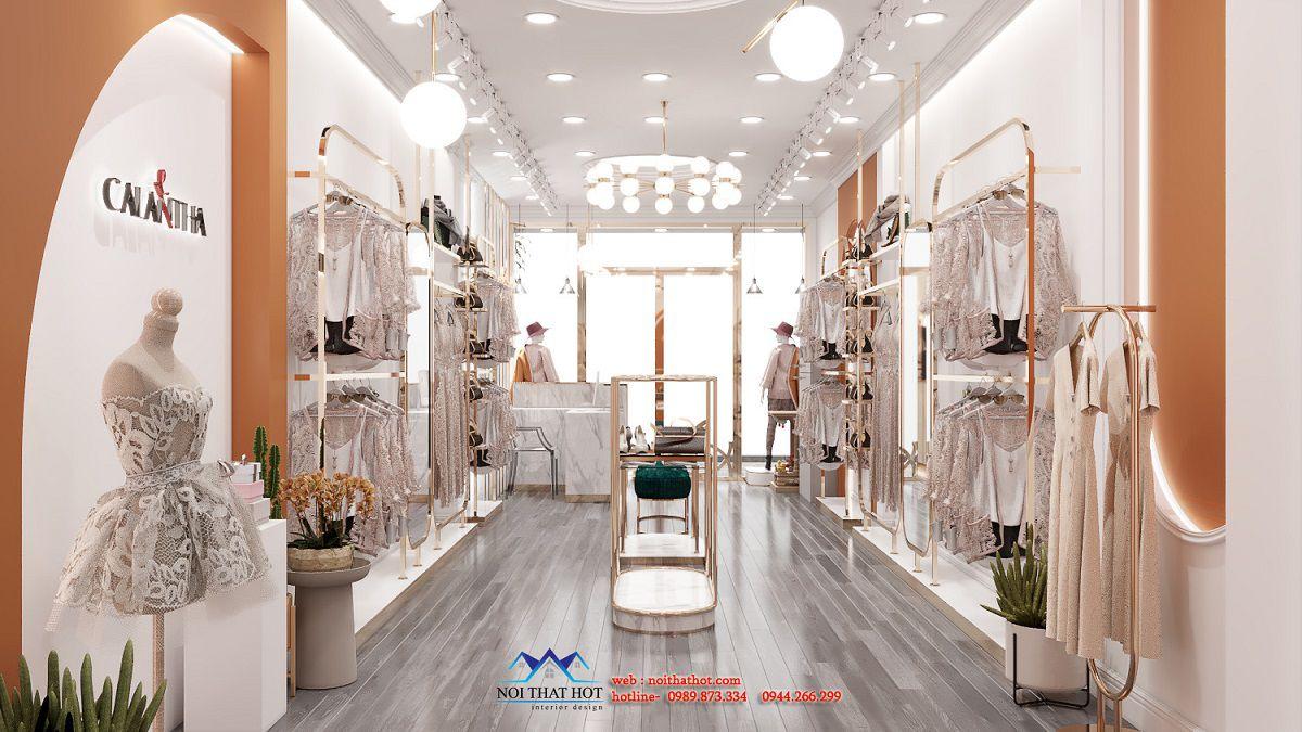 thiết kế shop quần áo Hà Nội