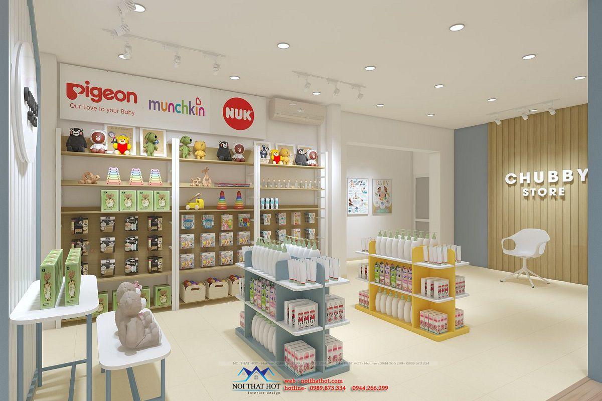 thiết kế shop trẻ em