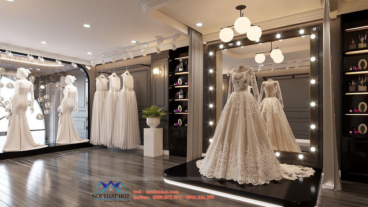 thiết kế studio ảnh viện áo cưới