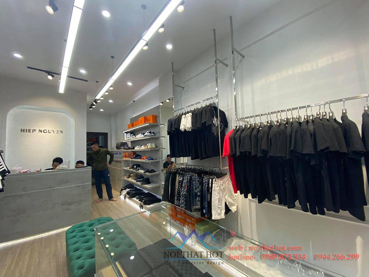 Thi công shop quần áo tại Hà Nội