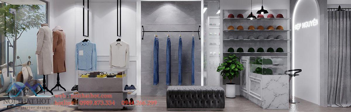 Thiết kế shop quần áo thời trang tại Hà Nội