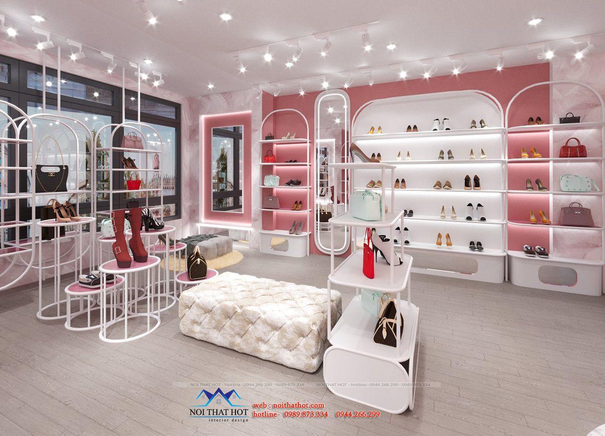 thiết kế shop túi xách online