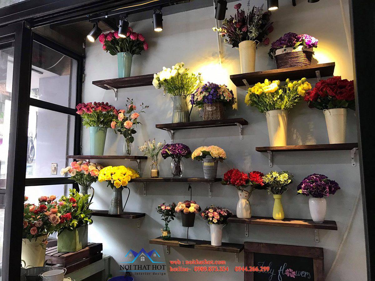 kệ trưng bày hoa