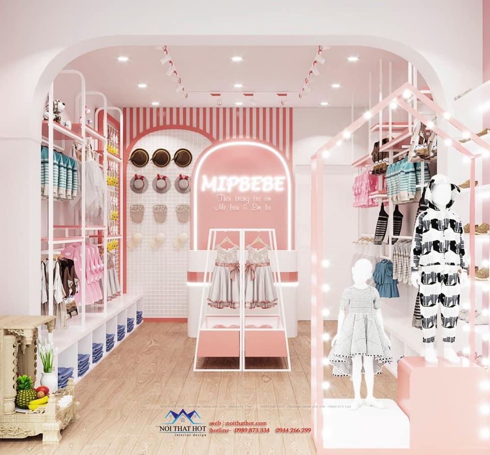 thiết kế cửa hàng trẻ em