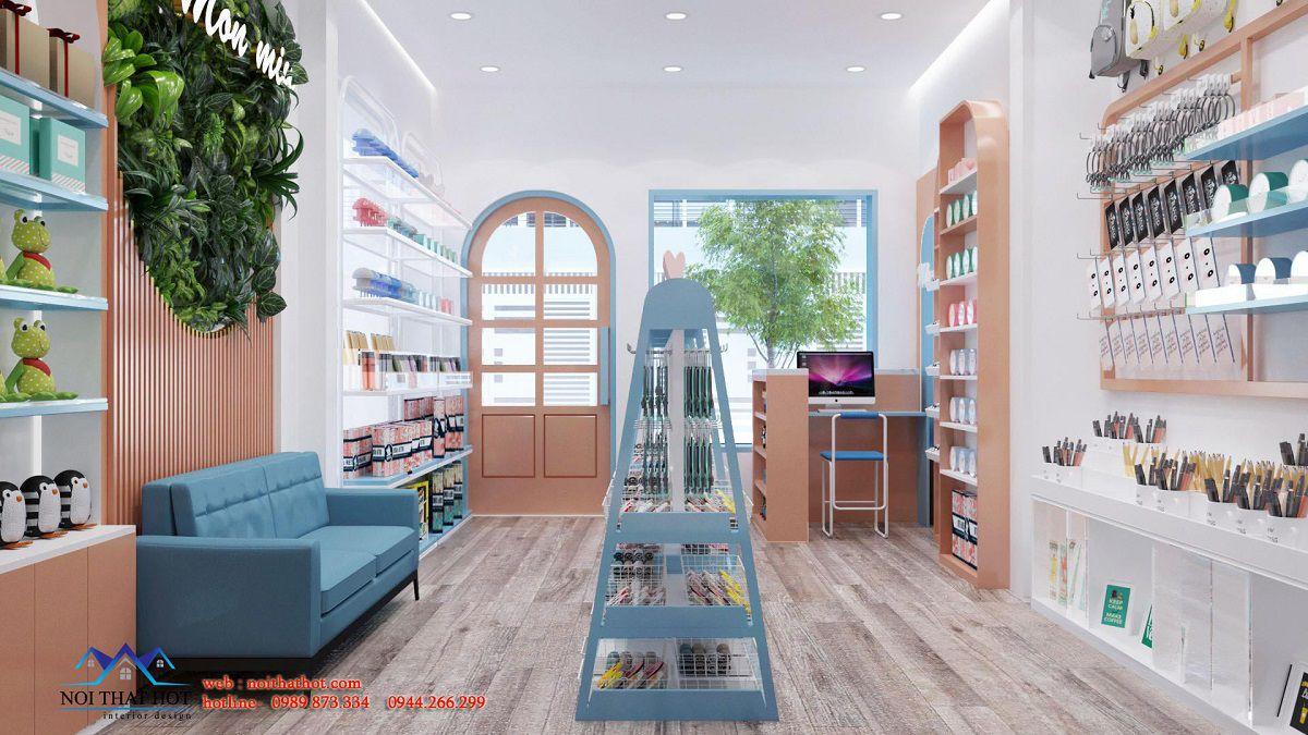 thiết kế cửa hàng quà lưu niệm hà nội