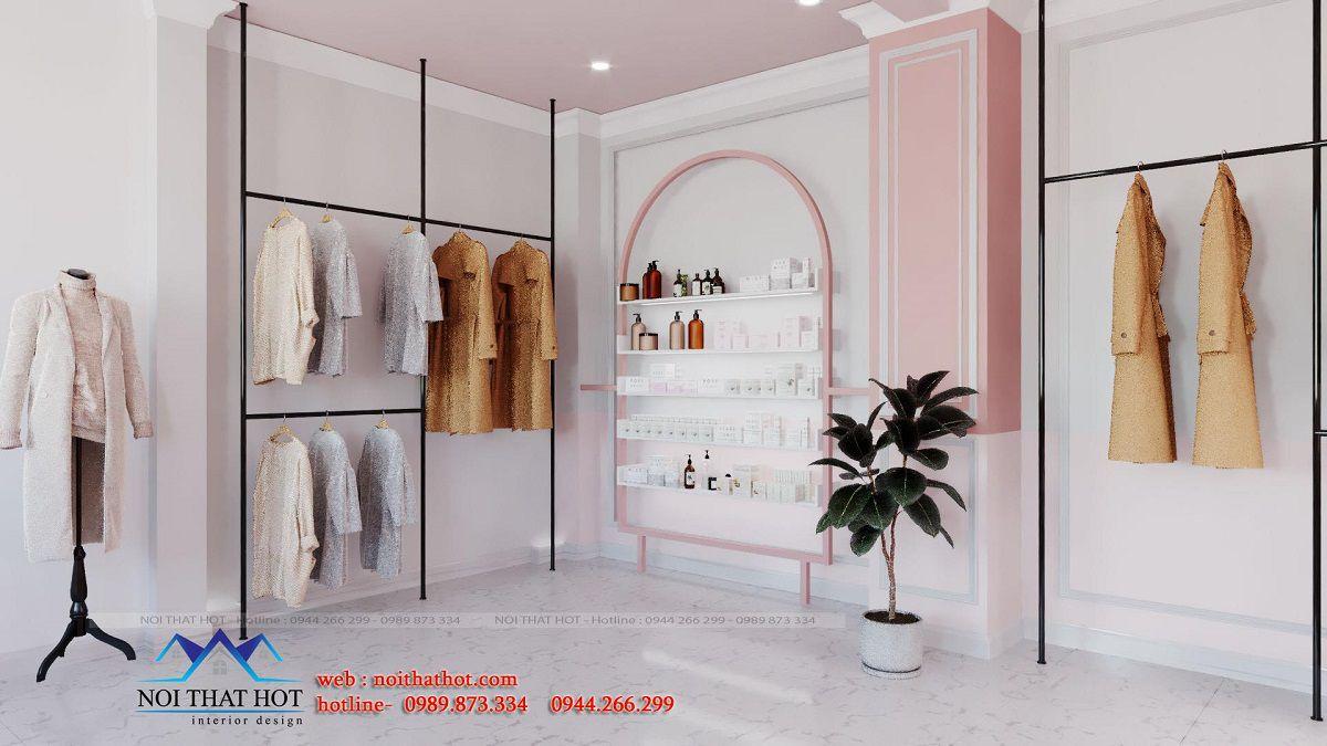 thiết kế phòng livestream bán mỹ phẩm