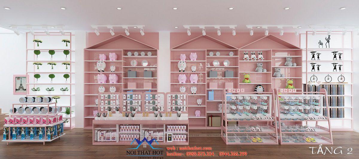 thiết kế shop quà tặng đẹp