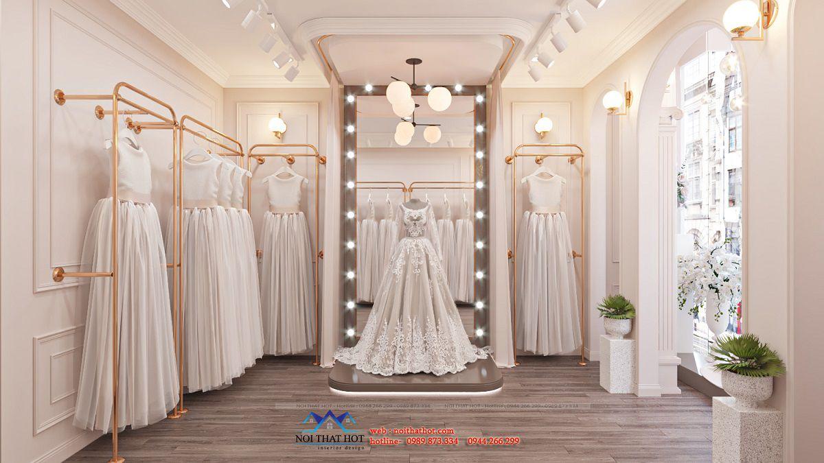 thiết kế studio váy cưới đẹp