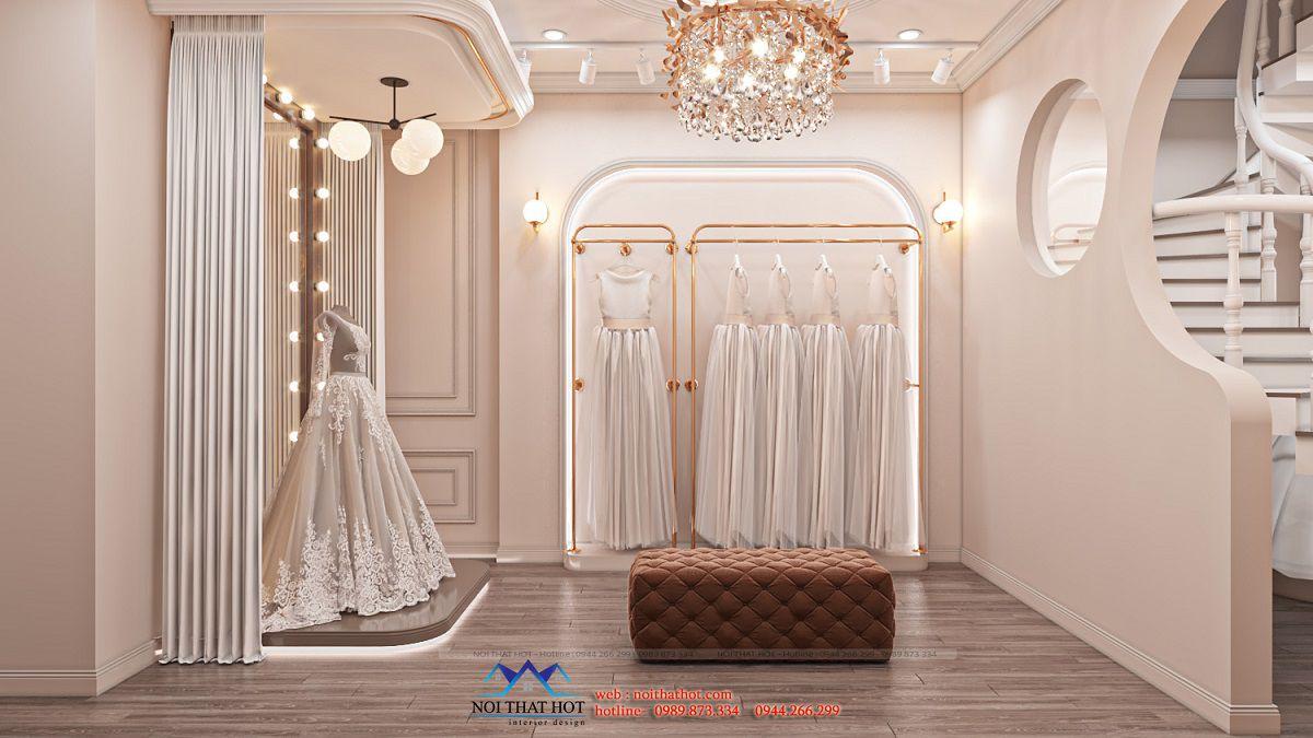 thiết kế studio váy cưới