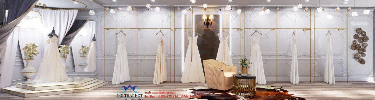 thiết kế studio váy cưới Hà Nội