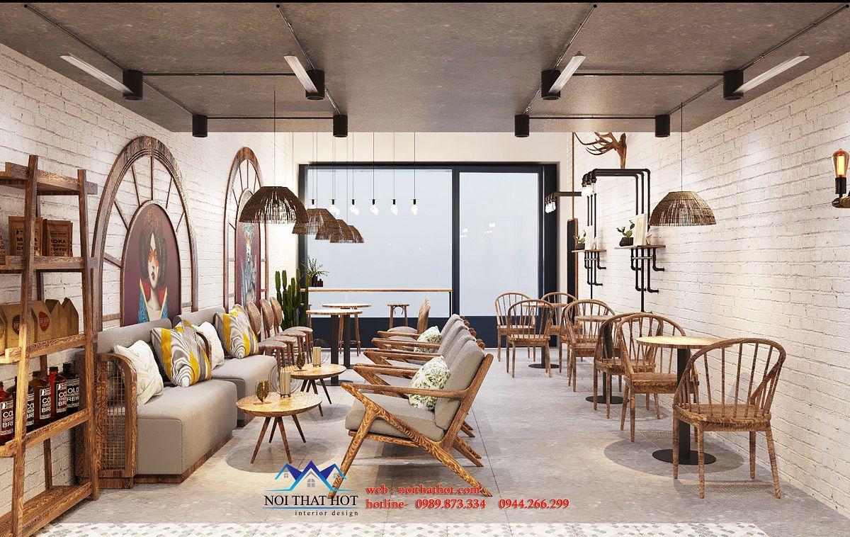 thiết kế nội thất quá cafe