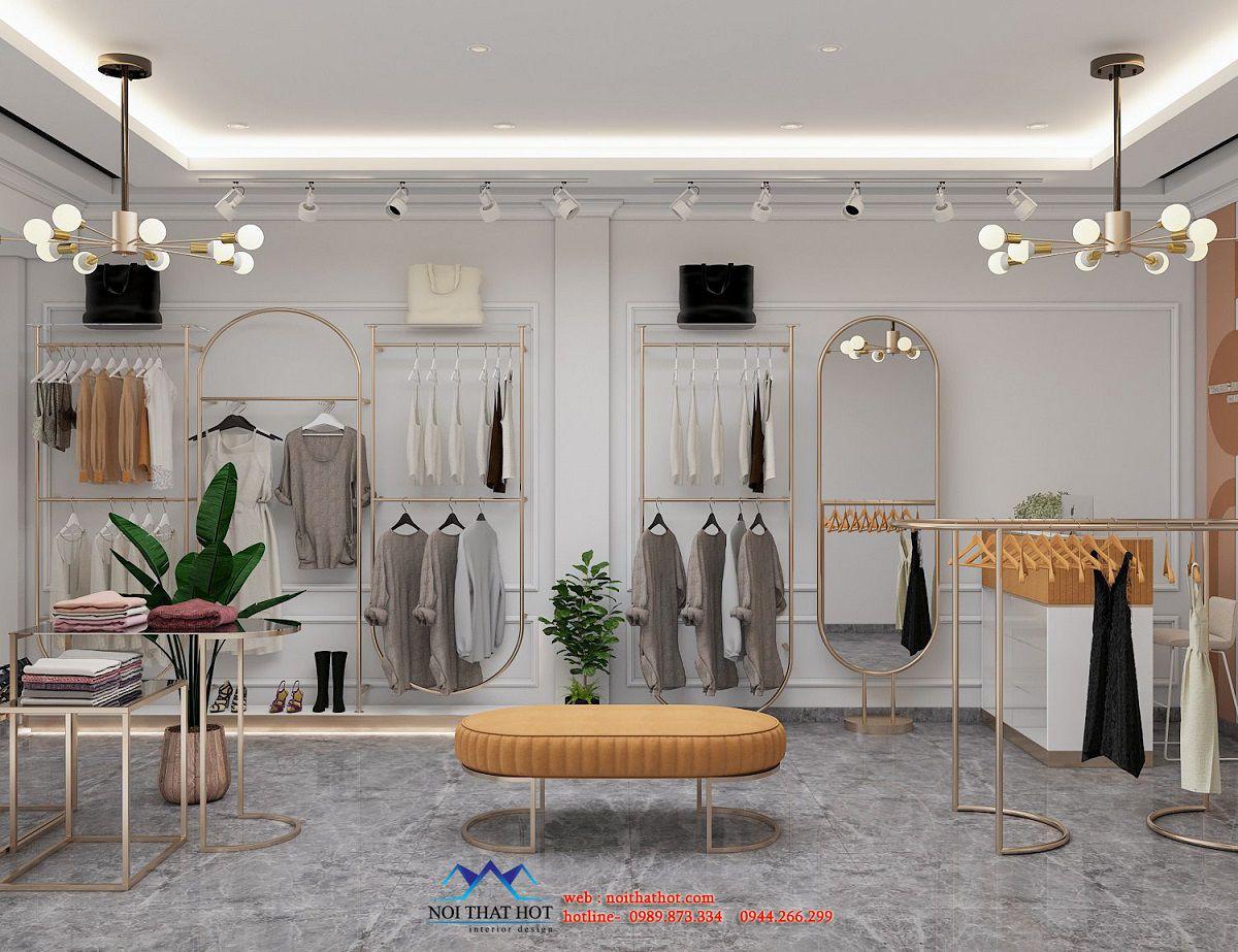 thiết kế shop quần áo thời trang nữ
