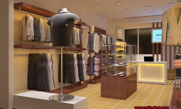 Kiến trúc sư thiết kế shop thời trang nam đẳng cấp, chuyên nghiệp