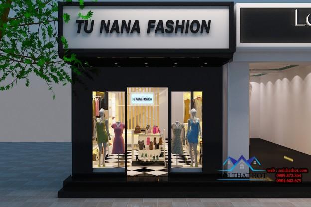 thiết kế cửa hàng thời trang chất lượng