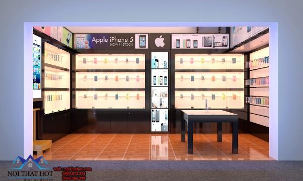 thiết kế cửa hàng điện thoại, thiết kế nội thất cho cửa hàng