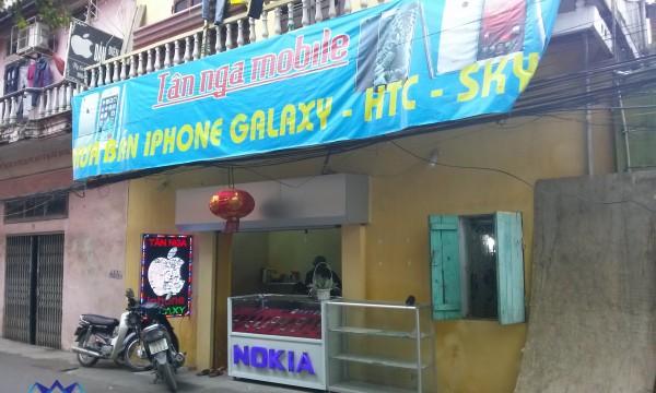 thiết kế shop điện thoại tân nga mobile