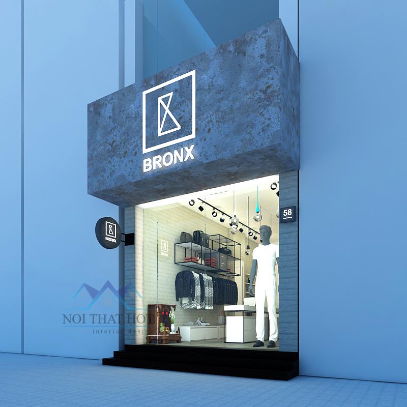 Mẫu thiết kế shop thời trang thi công nhanh - giá thành rẻ 1