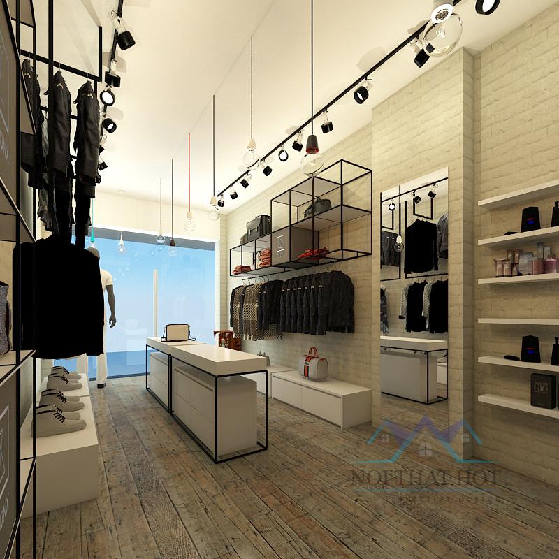Mẫu thiết kế shop thời trang thi công nhanh - giá thành rẻ 3
