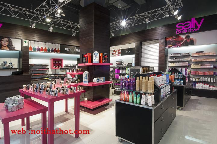 thiết kế cửa hàng mỹ phẩm chuyên nghiệp