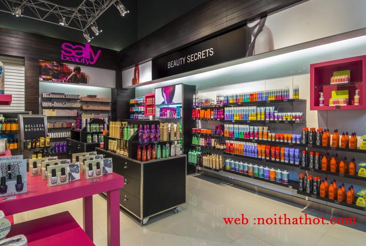 thiết kế shop mỹ phẩm chất lượng cao