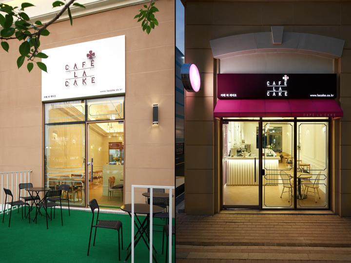 Thiết kế quán cafe có sân sau