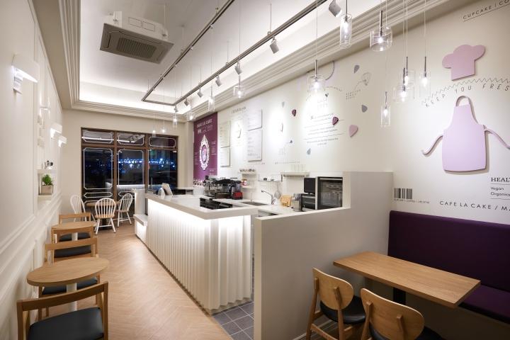 thiết kế quán cafe Cafe la Cafe