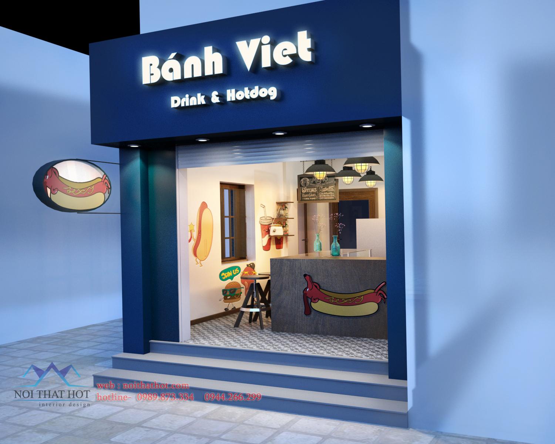 thiết kế quán cafe nhỏ hợp lý