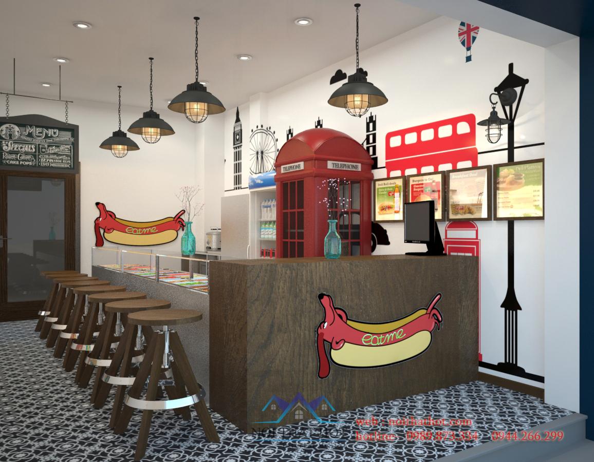 thiết kế quán cafe sáng tạo