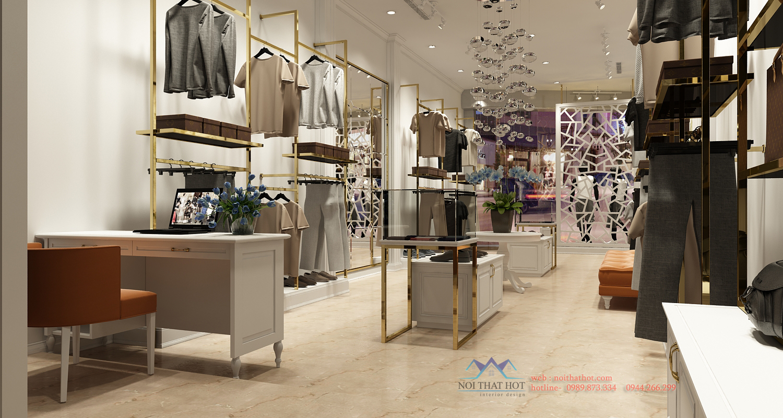 thiết kế shop thời trang tại hà nội
