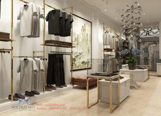Thiết kế shop thời trang nam tại Gia Lâm
