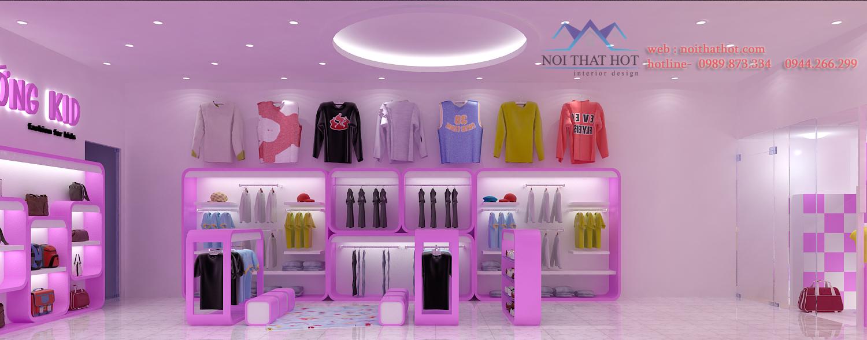 thiết kế cửa hàng thời trang nữ uy tín chất lượng cao