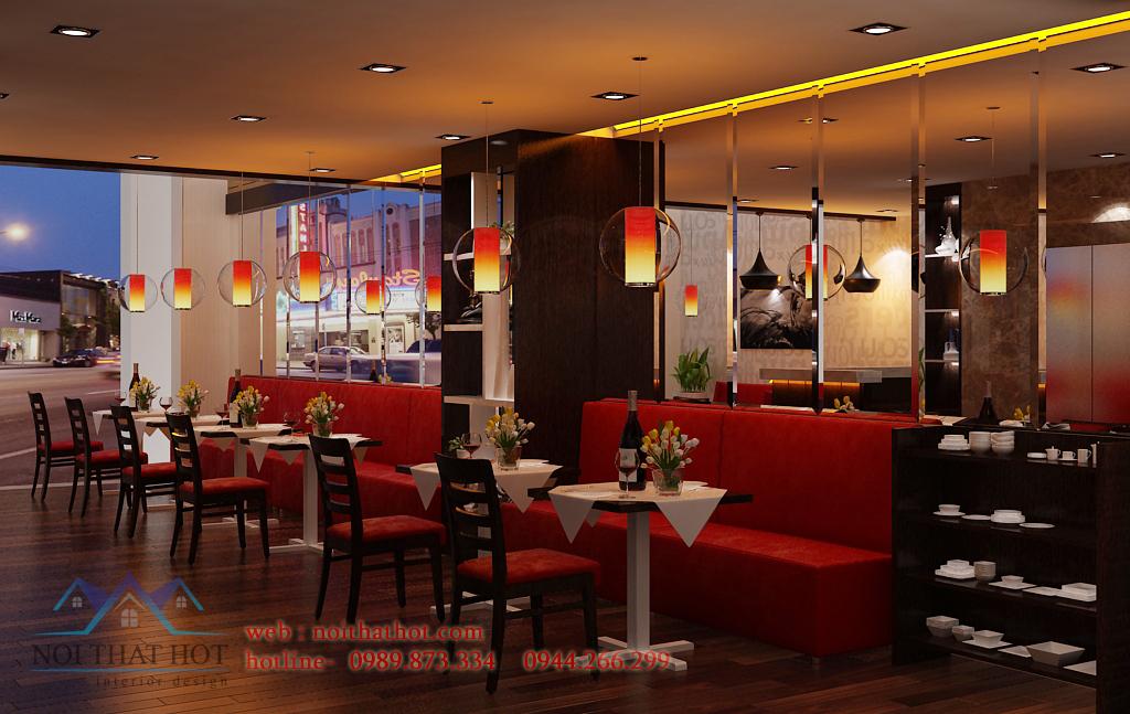 Thiết kế nhà hàng Janes Bistro restaurant
