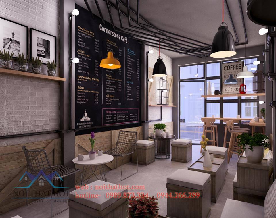 Thiết kế quán cafe sinh viên