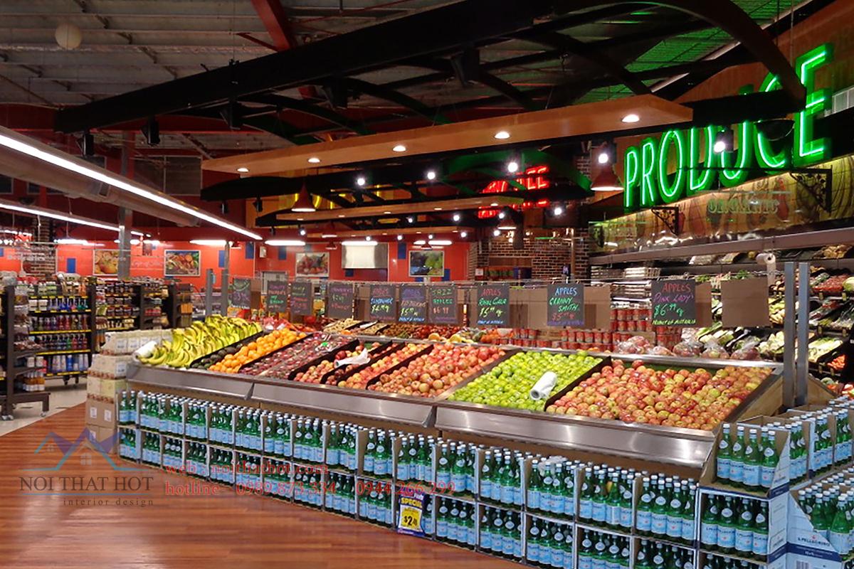 thiết kế siêu thị thông minh, thiết kế cửa hàng tạp hóa