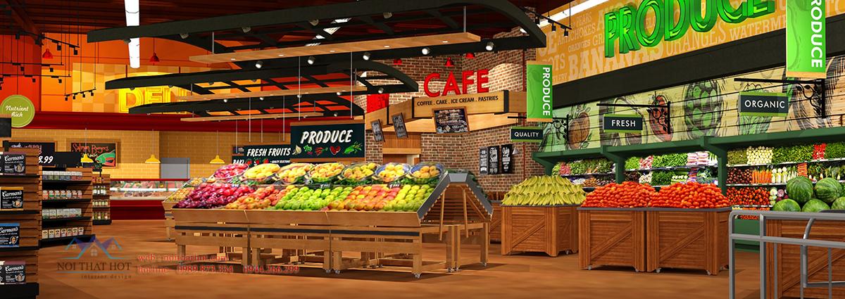 thiết kế siêu thị uy tín