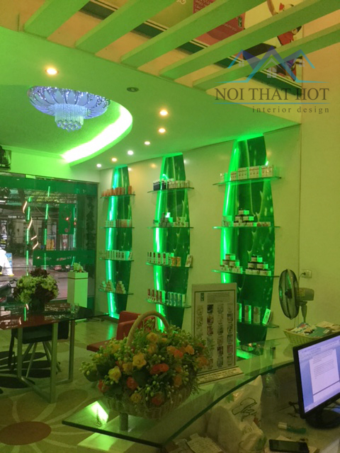 Thiết kế thi công spa tại Dịch Vọng - Hà Nội