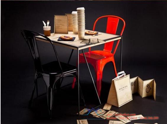 thiết kế quán cafe kết hợp đồ ăn nhanh