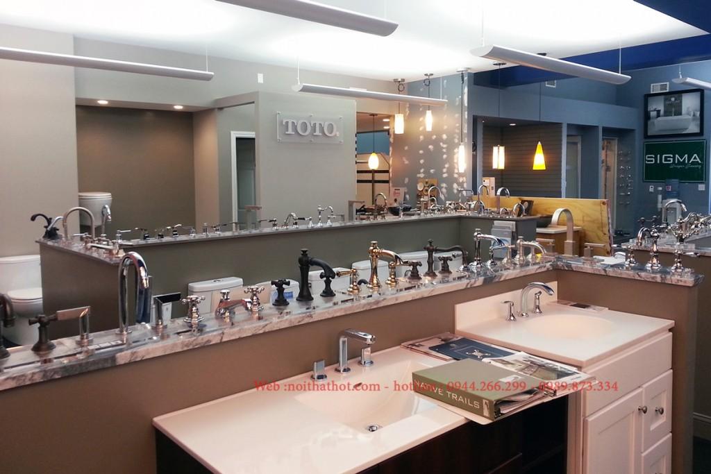 Thiết kế cửa hàng showroom vệ sinh