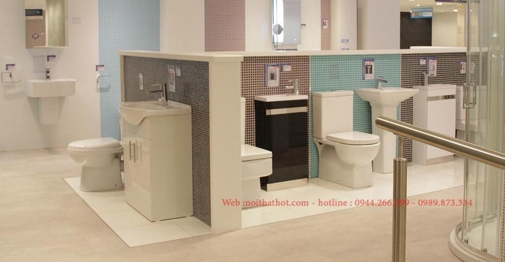 Thiết kế cửa hàng thiết bị vệ sinh cao cấp To To