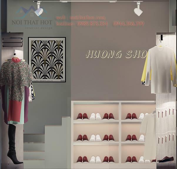thiết kế cửa hàng thời trang đẳng cấp