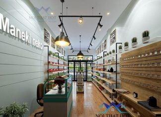 Thiết kế cửa hàng bán đồ nhập khẩu