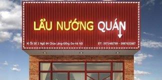 Thiết kế quán ăn lẩu nướng