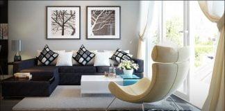 thiết kế nội thất chung cư hiện đại hoàn thiện