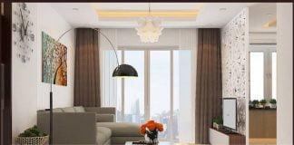 Thiết kế căn hộ chung cư 2 phòng ngủ 70m2