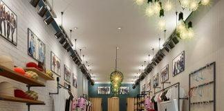 Thiết kế cửa hàng thời trang nữ đẹp