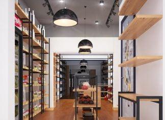 Thiết kế cửa hàng bán đồ nhập khẩu đẹp
