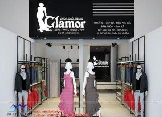 Thiết kế gian hàng thời trang