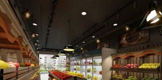 Thiết kế cửa hàng bán hoa quả