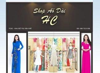Thiết kế shop áo dài